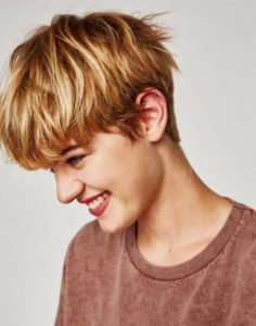 stylish tomboy boyish hairstyles for women