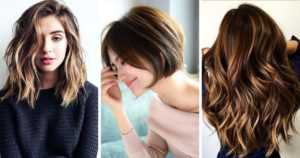 cascade and bob haircuts for women