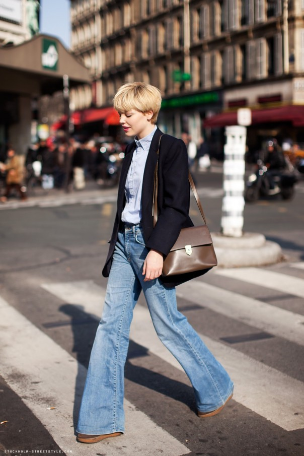french casual look