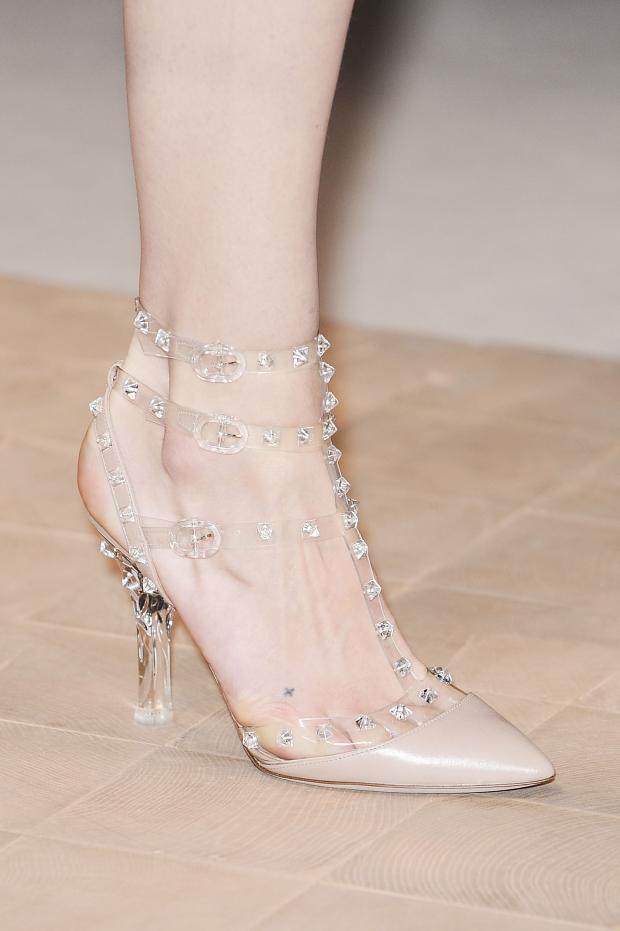 elegant plastic shoes for women