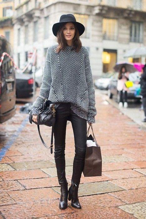 women's knitwear outfits