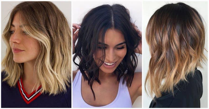 cascade and bob haircuts