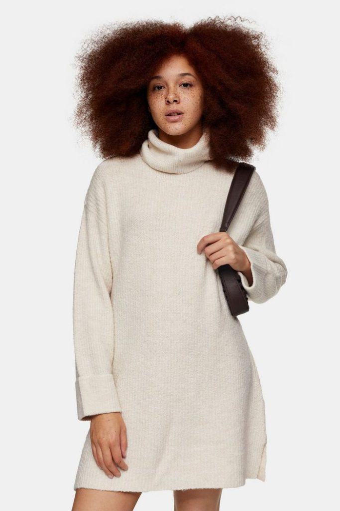 maxi cowl neck sweaters