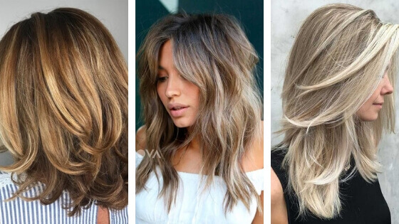 cascade and bob haircuts for women