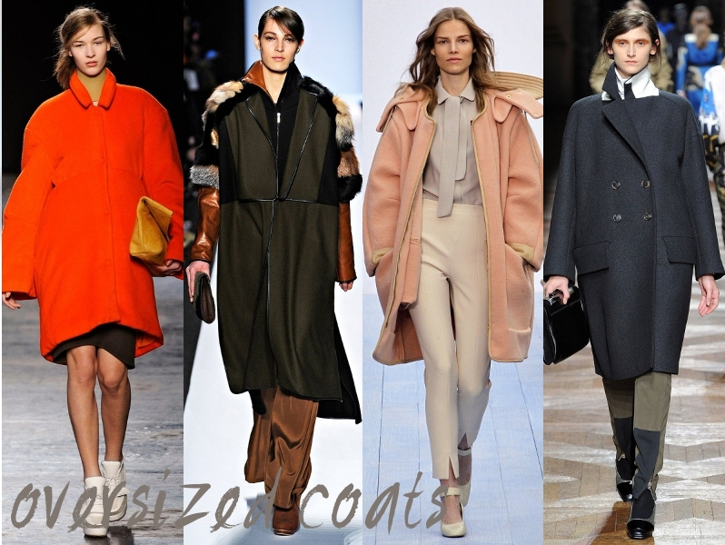 fashion trends oversized coats for fall winter