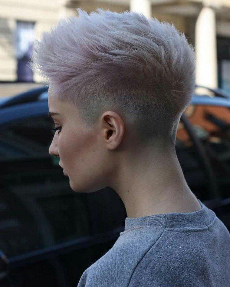 pink boyish haircuts