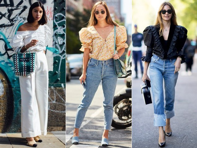 puff sleeves outfit ideas to try