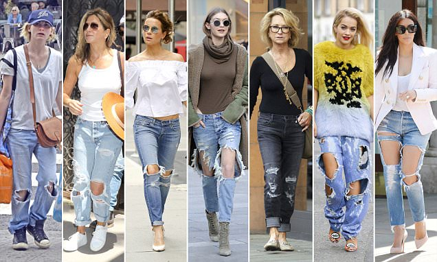 denim trends ripped jeans for women