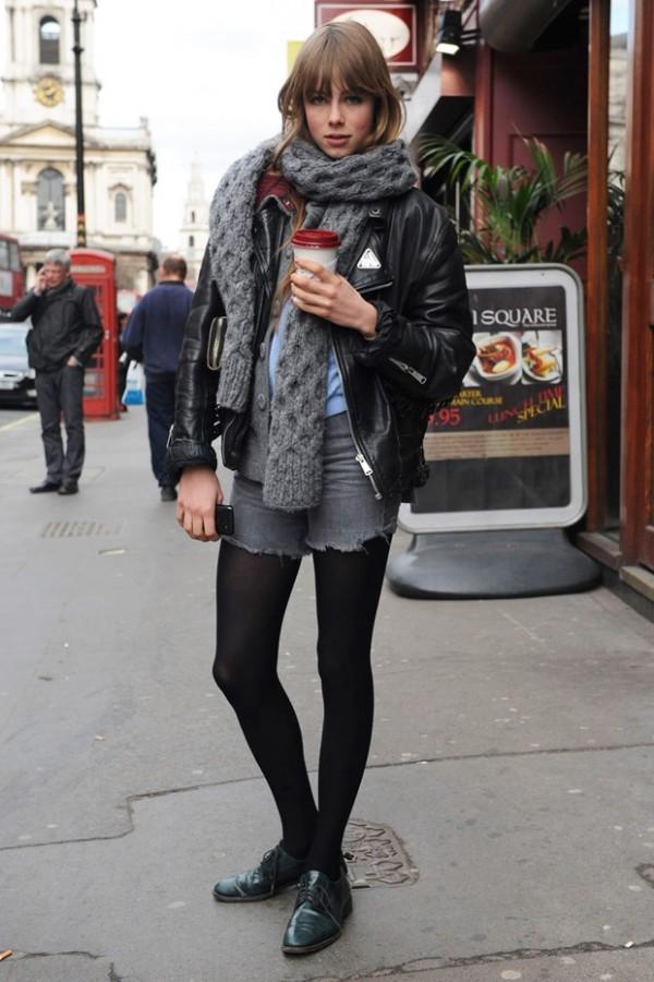 denim shorts for winter