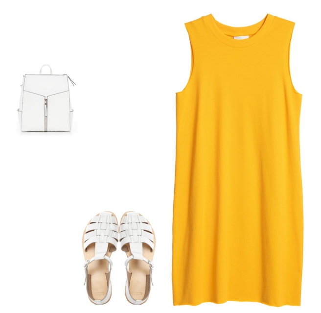 sporty chic style dress