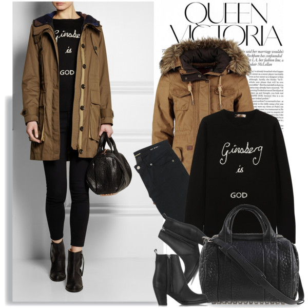 casual look for winter