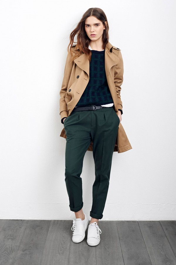 casual look with camel coats