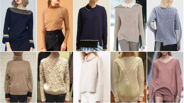 women's knitwear trends & styles