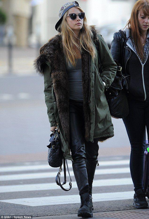 modern women's parkas for winter