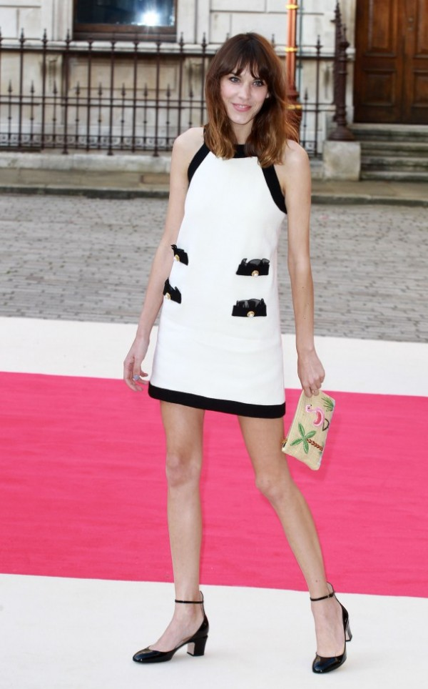 chic 60's mini dress