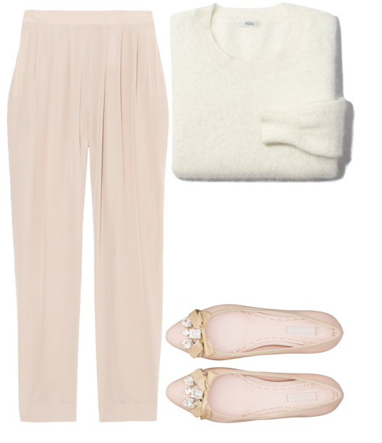 comfy fit straight-leg pants look for spring