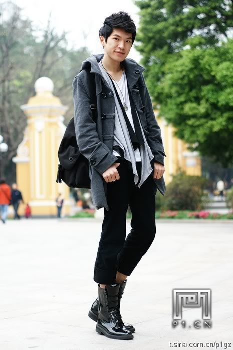 casual men street style