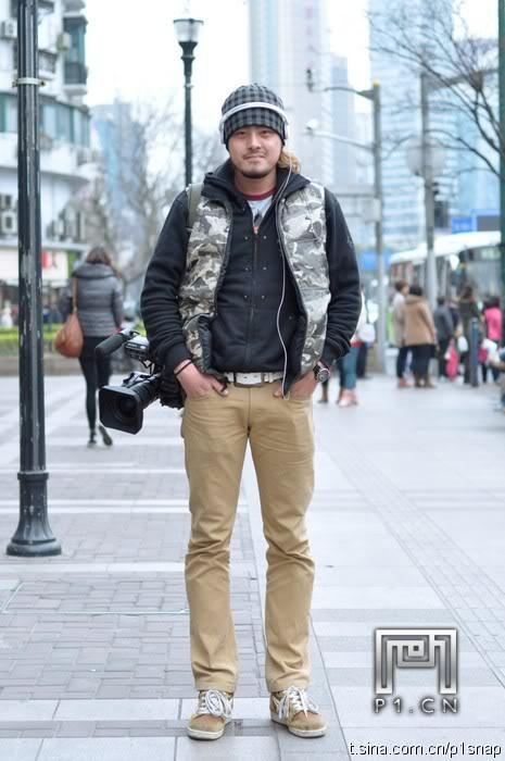 sporty men street style for winter