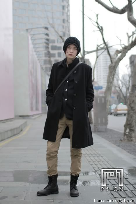 winter outfit for men