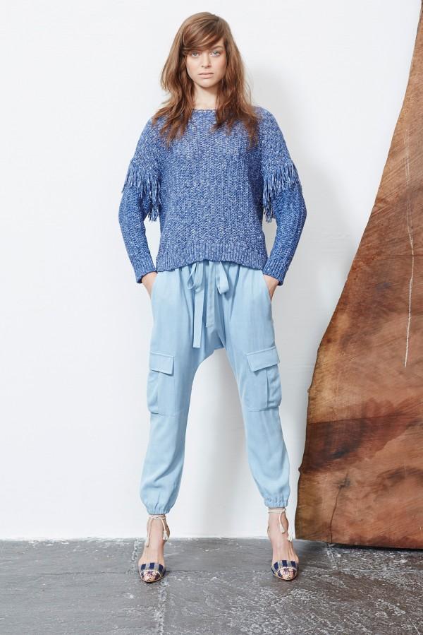 blue cargo women's pants