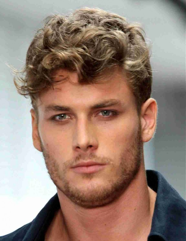 curly men's hairstyles