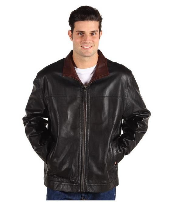 men's leather jacket for fall