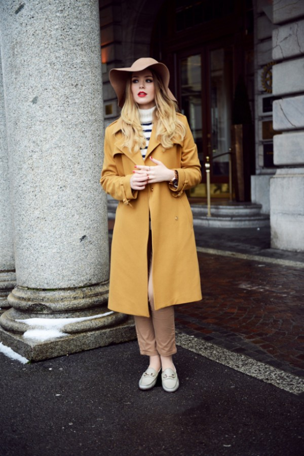 fall women's outfits with loafers