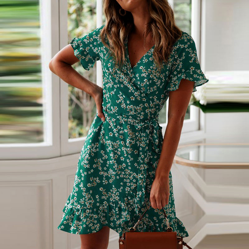 the best wrap dresses to wear this season