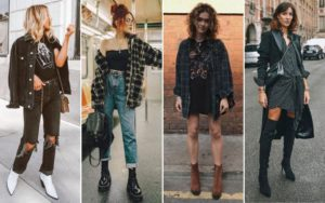 fall winter style trend grunge is back