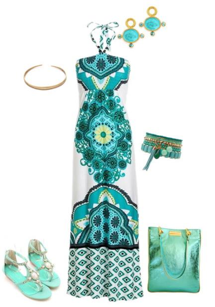 light blue plus size maxi dresses outfits
