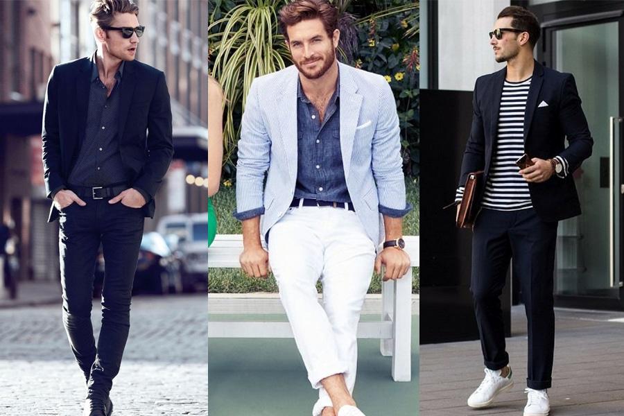 men's smart casual style for spring summer season