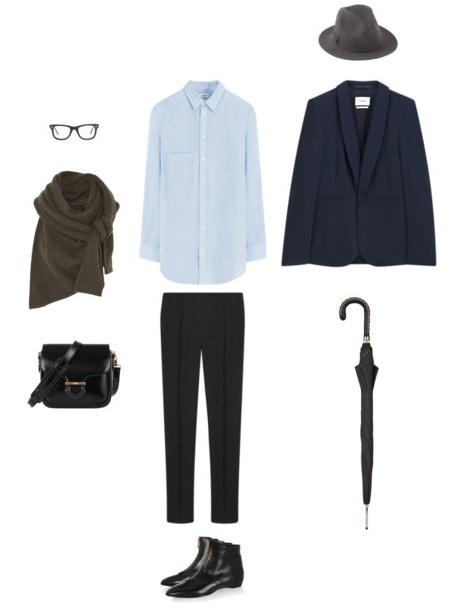 men's dapper style outfit