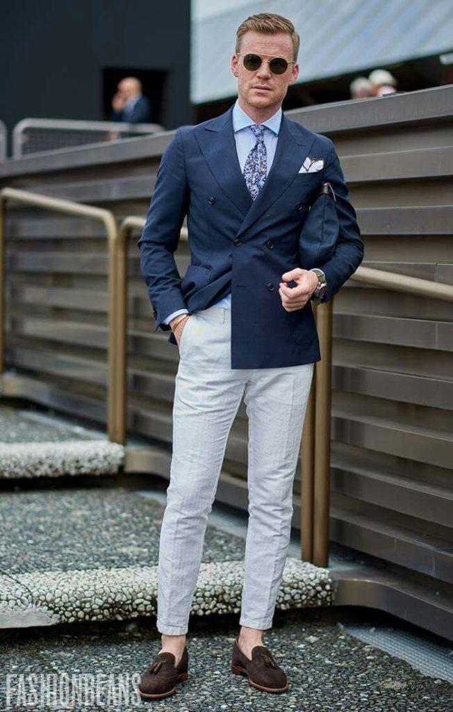 men's elegant dapper style look