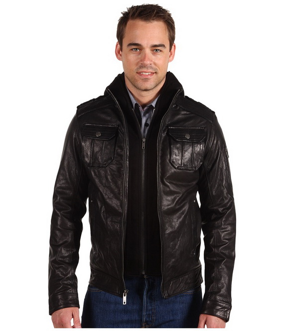 men's black jackets