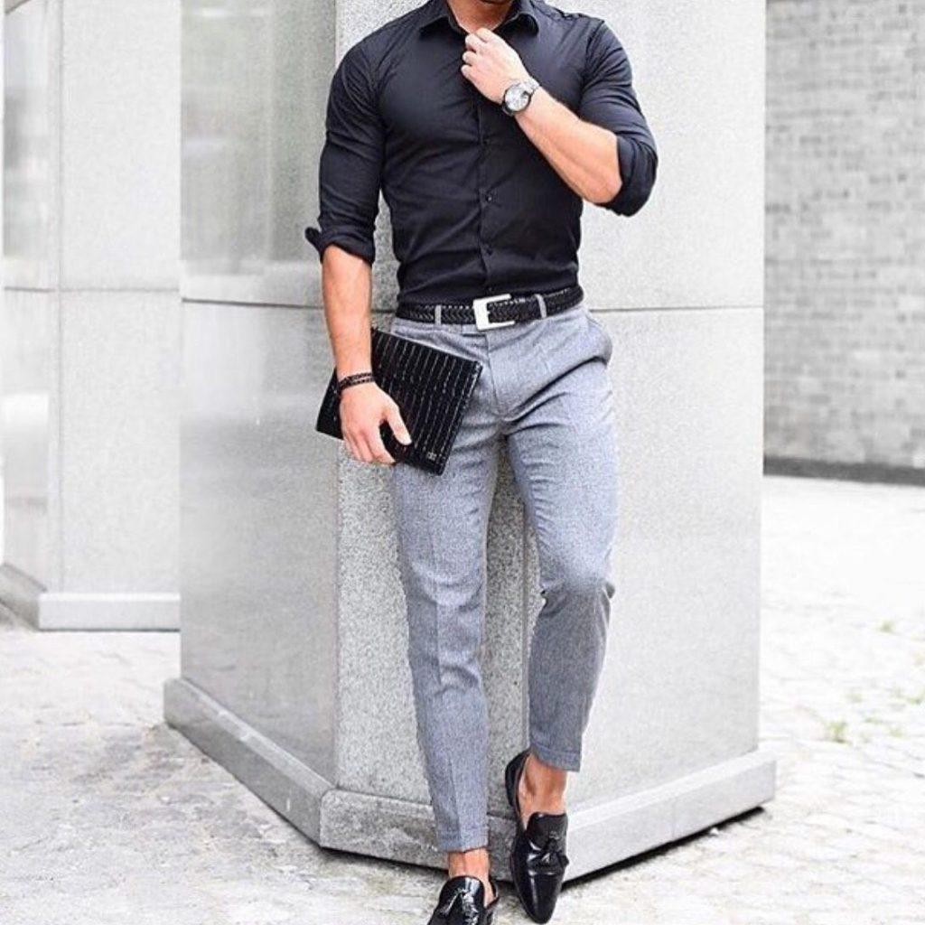 men's casual dapper style