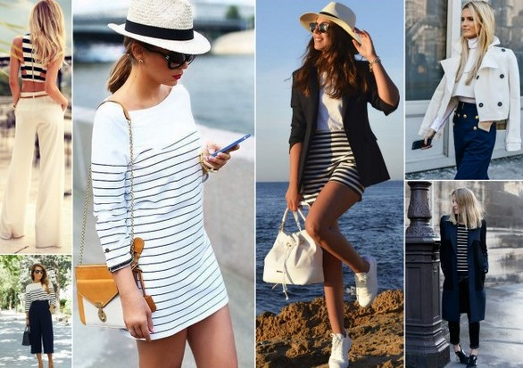 nautical fashion trend stripes & anchors