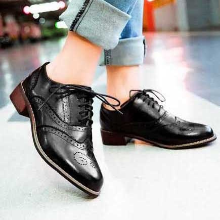 what oxford shoes are ideal for tomboy look