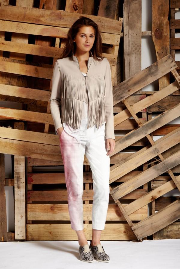 trendy white women's pants