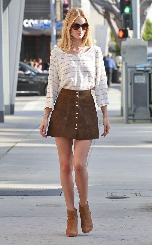 women's fall skirts 70's inspired