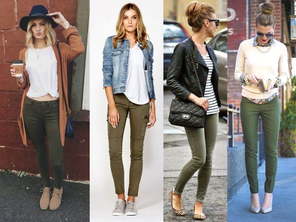 women's army pants casual outfits