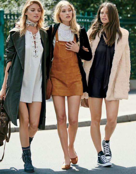 women's fall dresses 70's inspired