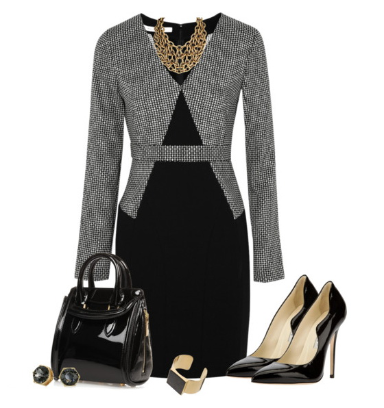 work outfit with dress