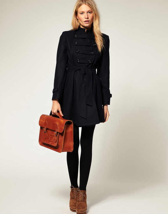 women's black coats for fall winter