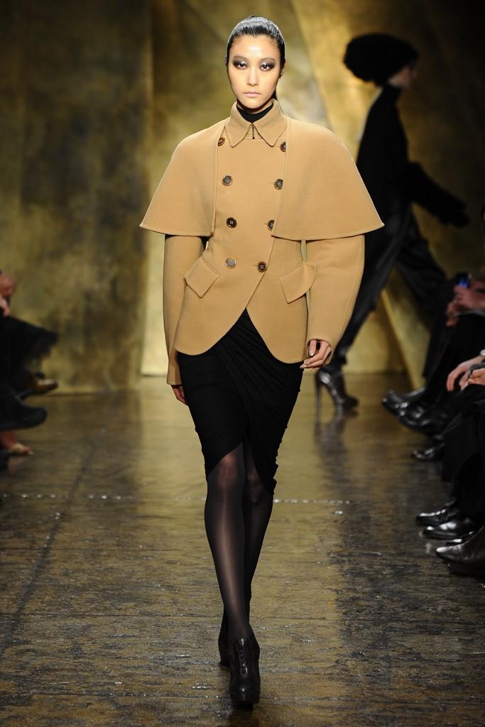 camel rounded shoulders coat for women