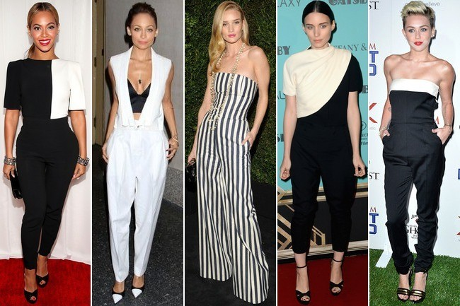 black and white elegant outfits with jumpsuits