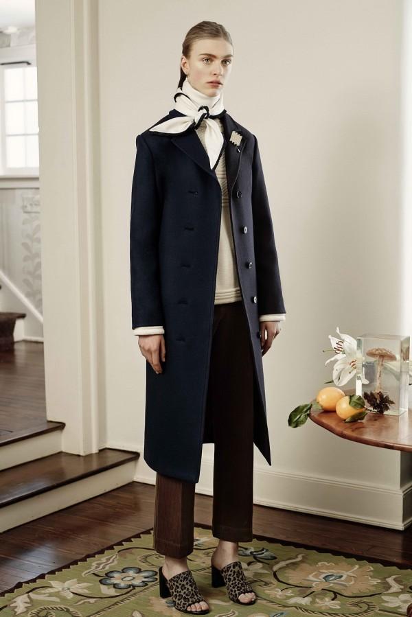 women's blue coat for work