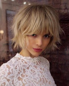 jagged long haircuts for women