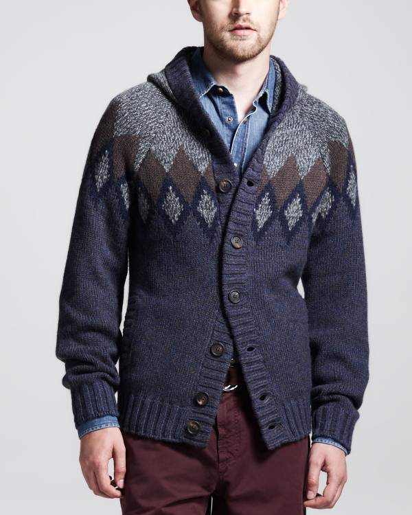 traditional men's cardigan sweaters
