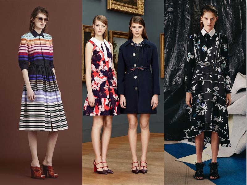 style trends collar shirt dresses