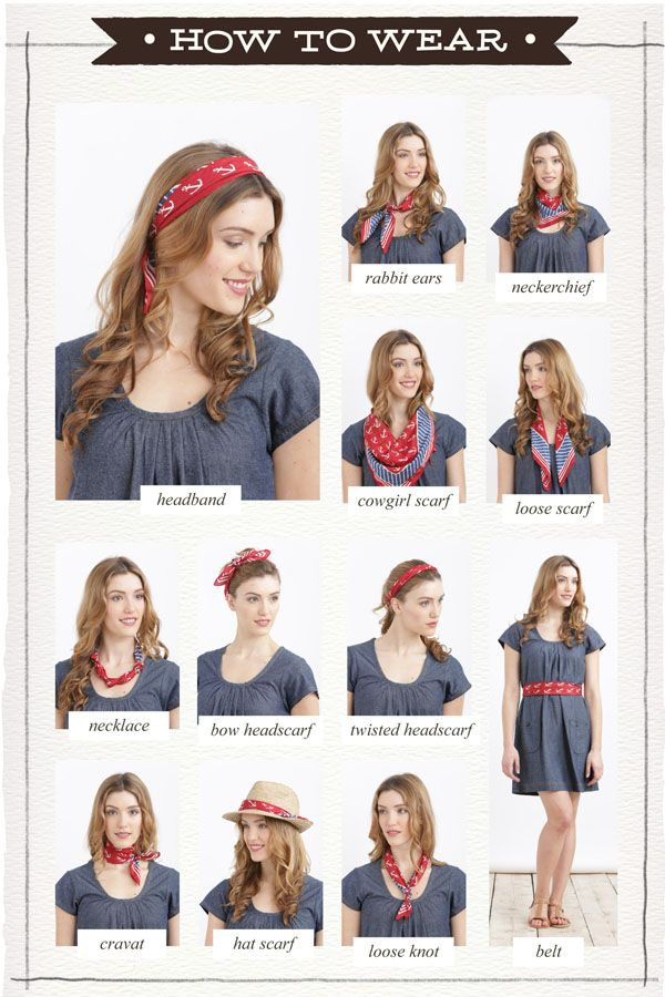 different ways to wear scarves scarf